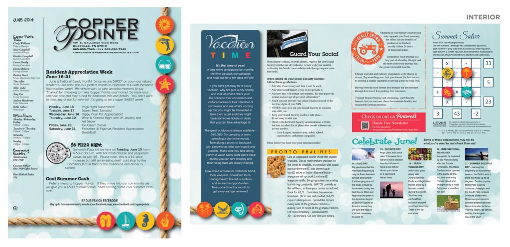 Hassle Free Newsletter Sample 1